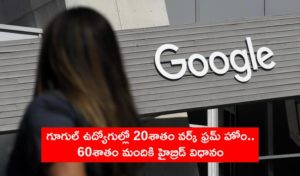 Google Workers Remote Hybrid