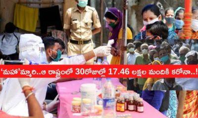 Maharashtra 17.46 Lakh Positive Cases In Apri