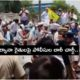 Police Lathi Charge To Farmers