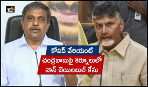 Kurnool Case Registered Against Ex Cm Chandrababu Naidu