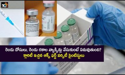 What Happens When You Mix 2 Vaccine Shots A Study Has Found This