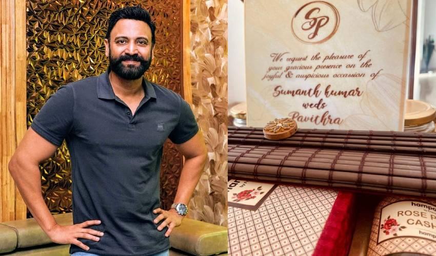 Sumanth : సుమంత్ సెకండ్ మ్యారేజ్.. వెడ్డింగ్ కార్డ్ వైరల్..