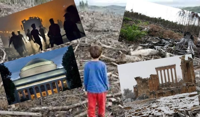 Collapse Of Humans : 20 ఏళ్లలో మనుషులు అంతమైపోతారా?