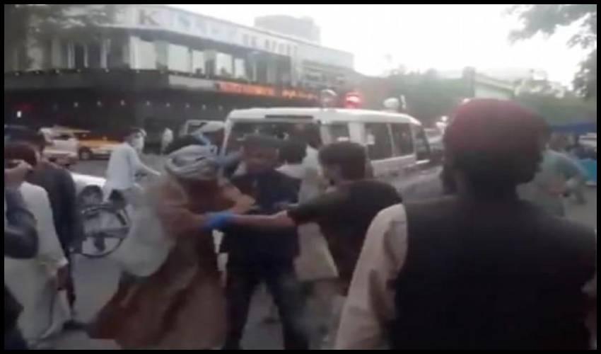 Twin Kabul Blasts : కాబూల్లో ఆత్మాహుతి దాడి ఐసిస్ పనే!