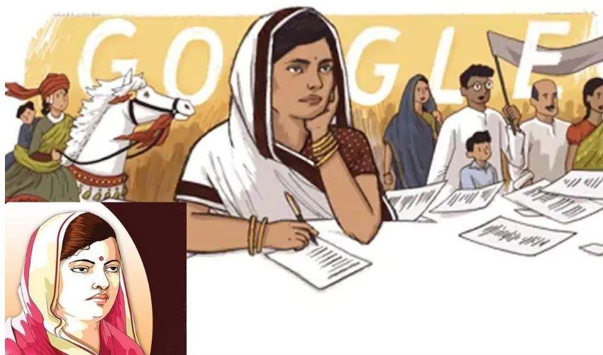 Subhadra Kumari Chauhan : సుభద్ర కుమారి చౌహాన్ కు గూగుల్ డూడుల్స్ గౌరవం..