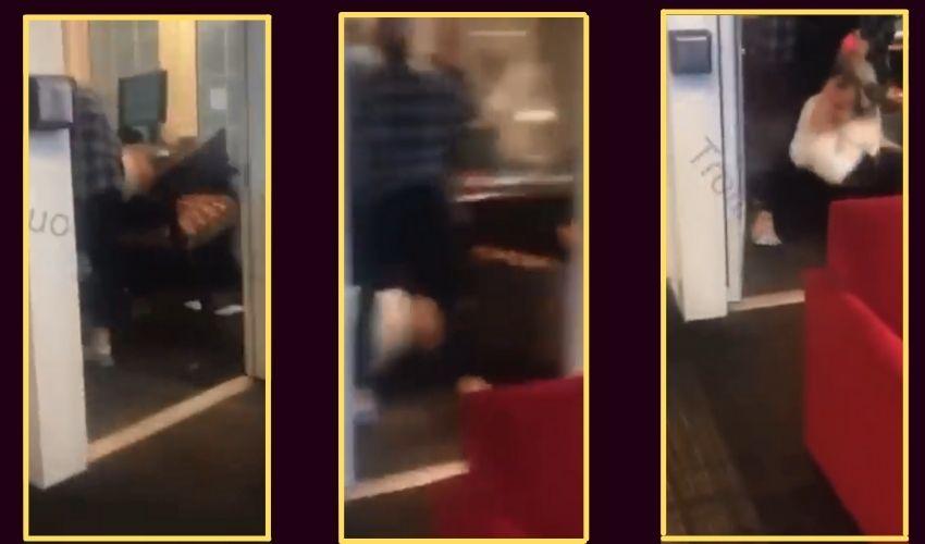 Viral Video : ఇంటర్వ్యూ గదిలో చెల్లిపై దాడి చేసిన అక్క..కారణం ఏమిటో తెలుసా ?