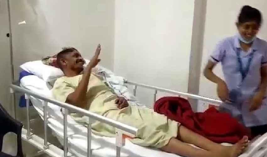 Bullet Bandi Song : పెరాలసిస్ పేషెంట్లో కదలిక తెచ్చిన బుల్లెట్ బండి సాంగ్